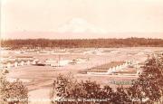 North - Fort Lewis, Washington WA Postcard