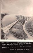 From a Painting by Abair of Grand River Dam - Washington WA Postcard