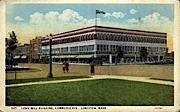 Longbell Building - Longview, Washington WA Postcard