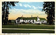 Community Y.M.C.A. - Longview, Washington WA Postcard