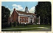 Public Library - Longview, Washington WA Postcard