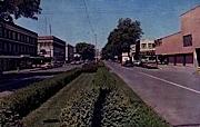 Boulevard - Longview, Washington WA Postcard