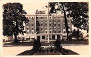 Hotel Monticello - Longview, Washington WA Postcard