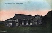 Oldest House In Port Angeles - Washington WA Postcard