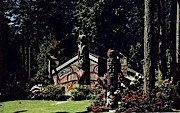 Totems Trading Post - Agate Pass, Washington WA Postcard