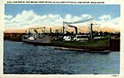 Industrial and Water Front  - Vancouver, Washington WA Postcard