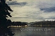 Hood Canal - Bremerton, Washington WA Postcard