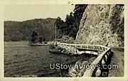Real Photo - Lake Crescent, Washington WA Postcard