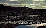 Sunset Highway, Lake Keechelus - Ilwaco Port, Washington WA Postcard