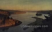 Deception Pass, Deception Pass Bridge - Washington WA Postcard