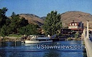 Campbell's Resort - Chelan, Washington WA Postcard