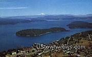 San Juan County - Friday Harbor, Washington WA Postcard