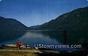 Lake Crescent Lodge - Washington WA Postcard