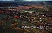 Weyerhaeuser Timber Co Plant - Longview, Washington WA Postcard