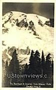 Real Photo - Glacier Vista - Paradise Valley, Washington WA Postcard