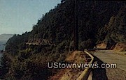 Chuckanut Drive - Chuckanut Bay, Washington WA Postcard
