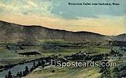 Wenatchee Valley - Cashmere, Washington WA Postcard