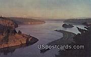 Deception Pass Bridge - Washington WA Postcard