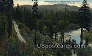 Elwha Valley - Lake Crescent, Washington WA Postcard