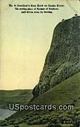 Swallow's Nest Rock - Snake River, Washington WA Postcard
