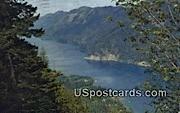 Lake Crescent, Washington Postcard     ;      Lake Crescent, WA