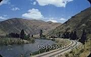 Yakima River Canyon, Washington Postcard     ;      Yakima River Canyon, WA