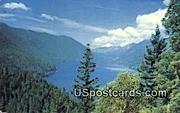 Lake Crescent, WA Postcard      ;      Lake Crescent, Washington