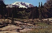 Mount Adams, WA Postcard      ;      Mount Adams, Washington