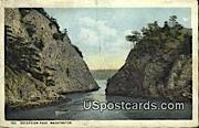 Deception Pass, Washington Postcard     ;      Deception Pass, WA
