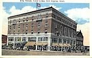 Elks Temple, Naval Lodge - Port Angeles, Washington WA Postcard