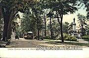 Clinton Avenue - Washington Park Postcards, Washington WA Postcard