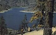 Omak Lake, WA Postcard      ;      Omak Lake, Washington