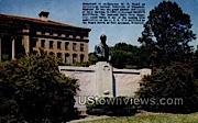 Monument of Govenor W. D. Hoard - Fort Atkinson, Wisconsin WI Postcard