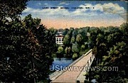 Lawe Street Bridge - Appleton, Wisconsin WI Postcard