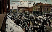 College Avenue - Appleton, Wisconsin WI Postcard