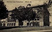 Green Lake County Training School - Berlin, Wisconsin WI Postcard