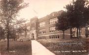 High School - Berlin, Wisconsin WI Postcard