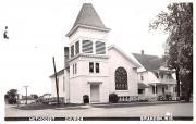 Methodist Church - Brandon, Wisconsin WI Postcard