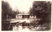 Summer White House - Cedar Island, Wisconsin WI Postcard
