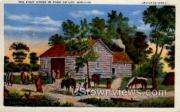 The First House - Du Lac, Wisconsin WI Postcard