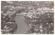 Air View - Fort Atkinson, Wisconsin WI Postcard
