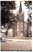 St Paul's Evangelical Lutheran Church - Fort Atkinson, Wisconsin WI Postcard
