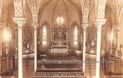Interior of Church - Holy Hill, Wisconsin WI Postcard