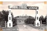 Deer Trail Lodge - Heafford Junction, Wisconsin WI Postcard