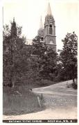 Pathway to the Shrine - Holy Hill, Wisconsin WI Postcard