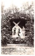 8th Station Statue - Holy Hill, Wisconsin WI Postcard