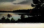 Eagle Lake Resort  - Kansasville, Wisconsin WI Postcard