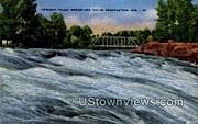 Meniminee Indian Reservation - Keshena Falls, Wisconsin WI Postcard