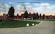 King's Gateway Hotel - Land-o-Lake, Wisconsin WI Postcard