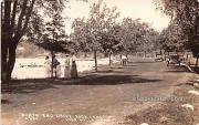 North End Drive Rock Lake - Lake Mills, Wisconsin WI Postcard